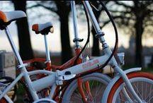 """Electric bicycle MELES / Теперь в Питере обитают невероятно шустрые бело-оранжевые двухколесные """"звери"""" неземного очарования. Хотите свести с ними знакомство? Тогда обращайтесь к нам. Всегда рады общению с новыми людьми!"""