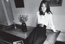 70s elegant style / seventies beauty retro style love elegance