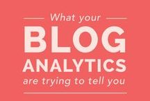 Blog Analytics and Metrics / How to grow and track your social media stats. How to grow and track your blog's traffic using Google Analytics. How to use SEO to help grow your traffic. Online visibility, web presence, increase traffic, increase online visibility