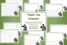 Activities for Veteran's Day / by Pinning Teacher