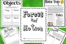 Forces & Motion / by Pinning Teacher