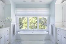 Luxurious Baths / Custom designed bathrooms by the team of architects, builders and remodelers at A. Perry Homes