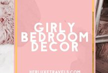 Millennial Pink Bedroom / This board has decor ideas , fun DIY ideas and all around home Decor inspiration for a girly girl  and millennial pink - Herluxetravels.com - LuxeMillennial.com