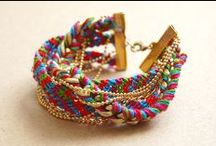 Brazilian bracelets / Beautiful summer bracelets ! Full of colors and shiny
