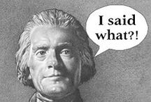 "Fake ""Facts"" and Misquotes / Many profound sayings have been attributed to Thomas Jefferson, however, these quotes are not among them! / by Thomas Jefferson's Monticello"