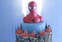 Totally Ace Superhero Cakes! / They have muscle, they have brawn - they love a lycra all-in-one...