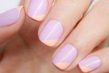 Stylish manicures.