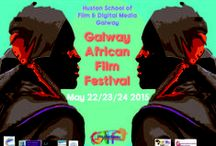 African Film Festival 2015 / Pins from films screened at GAFF 2015