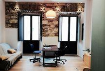 Habitat Studio: renovation of an historicalapartment in Cagliari city centre. / Stonelight / light / interior / fossnova / parquet / brick