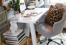 Home Office / Ideas for a inspiring and cozy home office.