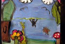 Εργαστήρι Τέχνης για Παιδιά / Art for children 6-12 age old. Η παιδική τέχνη είναι ξεχωριστό μέρος της σύγχρονης τέχνης.  Τα υλικά μας: χαρτιά, χρώματα, κόλες, ψαλίδια, πηλός… από μόνα τους δεν φτάνουν. Η φαντασία και η δημιουργικότητα των παιδιών θα τα κάνει έργα τέχνης. Τα παιδιά θα γνωρίσουν τον τρόπο να εκφράζονται με καλλιτεχνικούς όρους, θα μάθουν το βασικό «αλφαβητάρι» της τέχνης. Θα γνωρίσουν όλες τις τέχνες, θέατρο, κατασκευές, παραμύθια, χορό και όλα τους θα έχουν σαν βάση την ζωγραφική.