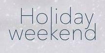 Holiday Weekend Buchanan House: Book Five / Pre-order now, release date: Dec. 16!