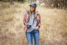 Outdoorsy Chic Style / Outdoorsy chic style and fashion