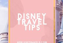 Disney Travel Tips / How to make the most of your next DisneyWorld or Disneyland trip. Tons of tips and advice to have an amazing family vacation . Herluxetravels.com