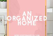 Luxe Home Ideas / Home Decor ideas , and ways to make your home feel like luxury with awesome Tips and tricks to stay organized  Herluxetravels.com