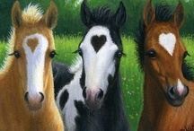 Horses for J / by Maureen Knoll