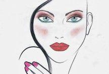 FACE CHART / Zabawy z face chartem. Projektowanie makijażu. #faceChart #makeupDesign