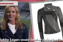Gabby Logan / Find out what Gabby Logan is wearing! www.styleonscreen.tv