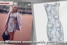 Laura Whitmore / Find out what Laura Whitmore is wearing! www.styleonscreen.tv
