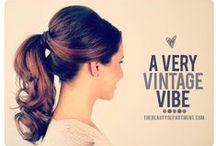 Hair / Ideias, truques e penteados!