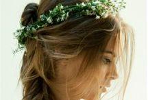I do / Wedding hair inspiration <3  Brides, bridesmaids, hair styles