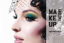 Make Up Factory / Produtos de compromisso com a qualidade. Design, estética e sutis toques extravagância definem o espirito da exclusividade moderna. Os mais renomados artistas inspiram as criações da Make Up Factory, High End Make up.