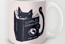 Cat teapots & mugs - Teiere & tazze gattose