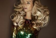 Party Time / hair styles and trends for the Christmas party season