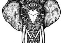 Aztec / Aztec patterns and inspiration