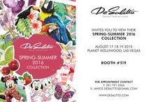 < TRADE SHOWS 2015 > / Visit us!  2015 will be a busy year for De Salitto make sure to keep up with all our company happenings!
