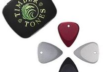 FUSION TONES / Fusion Tones are CNC Milled from an Industrial grade Aluminium to our Classic 351 shape.  They are 2.5mm thick where you hold them, tapering down to 0.7mm thick at the playing Tip. They are hard anodised in 4 different colours, Red, Black, Natural and Silver and include a 2.5mm hole for Jewellery options.