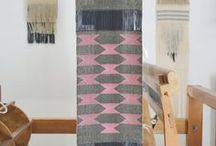 tribal & woodblock / handcrafted inspired print and pattern