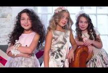 < BACKSTAGE VIDEOS > / Get exclusive backstage footage from De Salitto's childrenswear fashion photo shoots.