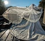 Wedding Veils / Sluier / Wedding Veils - from short & sassy to full-fledged cathedral (and everything in between).