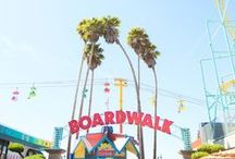 At the Boardwalk / Fond memories at the boardwalk always included two things - sprinting from one roller coaster to another and authentic Italian Ice from a nearby street cart. Here's to good times at the boardwalk!