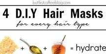 DIY KOSMETIK | Haare / DIY beauty reciepts for hair care  DIY Rezepte für Haarpflege