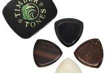 GYPSY TONES / Gypsy Tones are perfect equilateral triangle Guitar Picks designed for the heavy duty use when playing Gypsy Jazz style Guitar. They have a large holding area, which makes them easy to grip. They also have 3 very heavy duty playing tips, which, if allowed to wear down at different rates will afford a range of tones and feels.