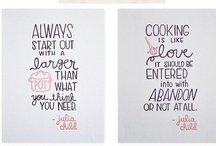 Inspiration / General Inspiration for Cooking for Luv