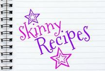 Skinny Recipes / A huge list of skinny recipes that are super yummy but won't add inches to your waistline!