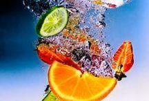 Humm  gustan frutas y bebidas