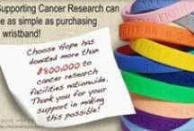 Choose Hope Donates! / To date, Choose Hope has donated over $900,000 to cancer research facilities nationwide. / by Choose Hope