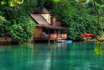 Cottage Collection / Escape to serenity, find comfort in being close to the shore.  / by Helen Dao