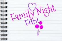 Family Night Fun! / Fun ideas to make family nights more fun. Recipes, games, crafts, adventures, vacations and more! Pin no more than 5 pins at one time. Let's all make our special nights with our family even MORE memorable! Ready, set, pin!