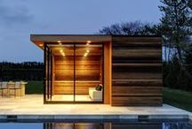 Feeling Well / ideas for spa and wellness room at home. pure and clean. not only bathroom and showers but also walls, doors, towel racks etc.