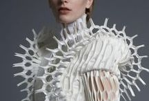 Textiles /  fragile lacework, thick wools,  crispy linens, nice patterns, feathers and so on.