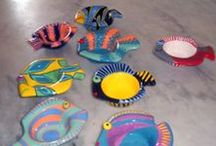 ~My ceramics fishes~ / ceramic fishes work in progress by Egeo.