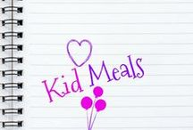 KID MEALS / All meals are kid-approved and specifically created with kids in mind. Checkout this amazing resource of kid recipes that kids love!