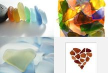 Sea glass love love / Beautiful Sea Glass from various places around the world.. / by Delia C