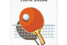 Ping Pong Party Ideas / Ping Pong Theme Ideas and Parties / by Total Table Tennis
