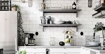 Dream Kitchen / Gorgeously designed kitchens that inspire culinary masterpieces.